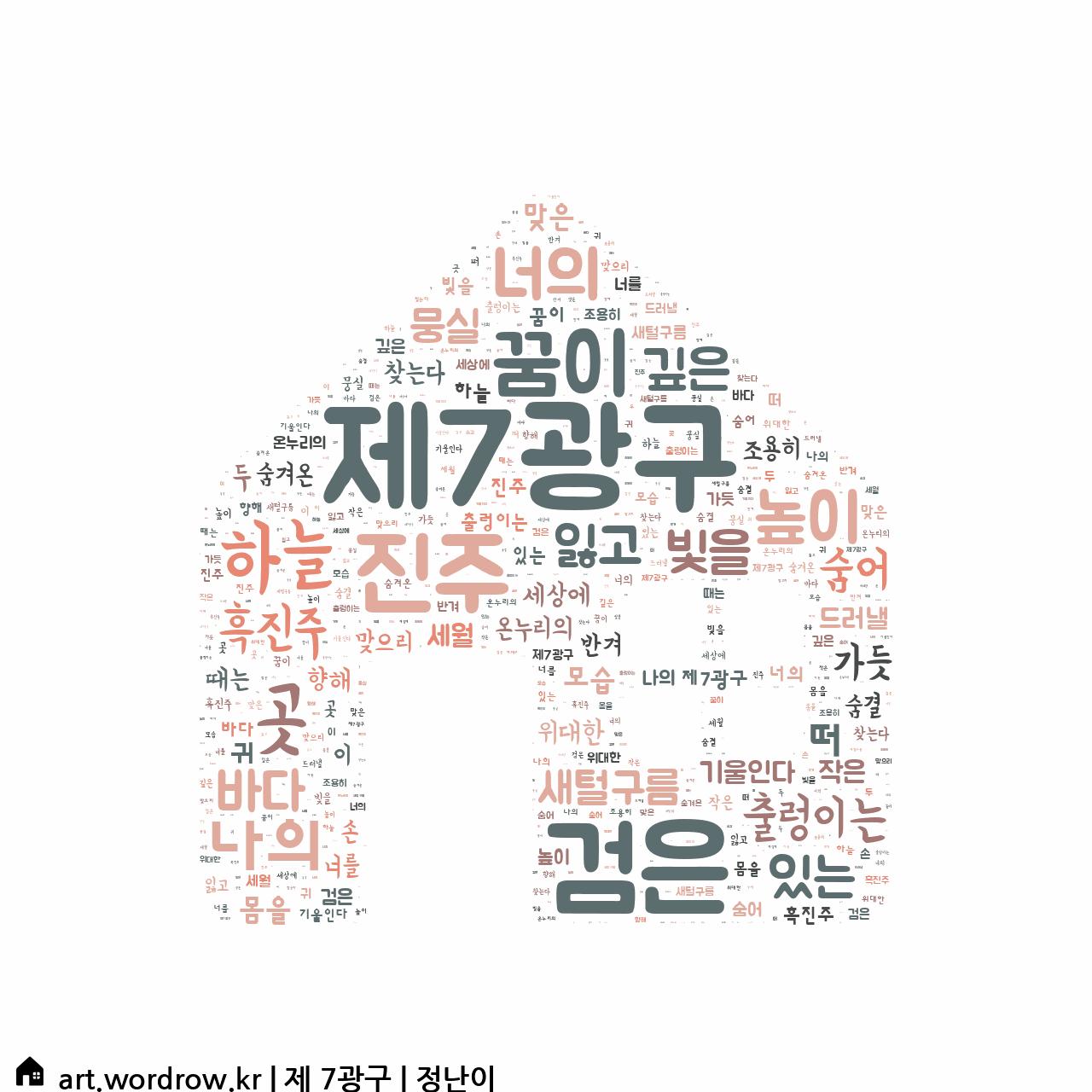 워드 클라우드: 제 7광구 [정난이]-46